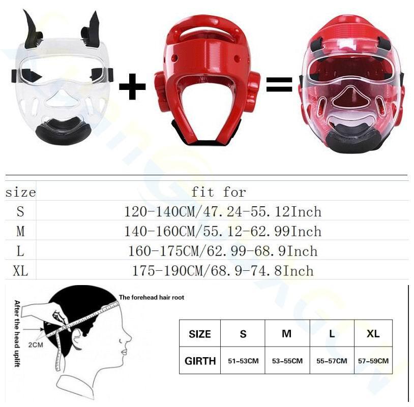 máscara capacete Muay Thai boxe training Sanda