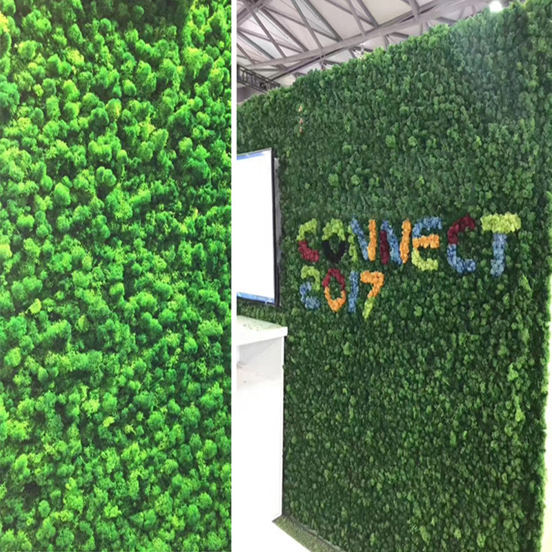 500g Green Moss Plants Grass Flower For Wall Landscape Wedding