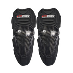 New Professional CE Approved Brand  Motorcycle Carbon Knee Protector Motocross KneePads Free Size Fitting For All 4pcs or 2pcs