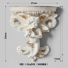 Ангел полка белая ванная полка настенный бумажный держатель телефонная полка аксессуар для ванной комнаты