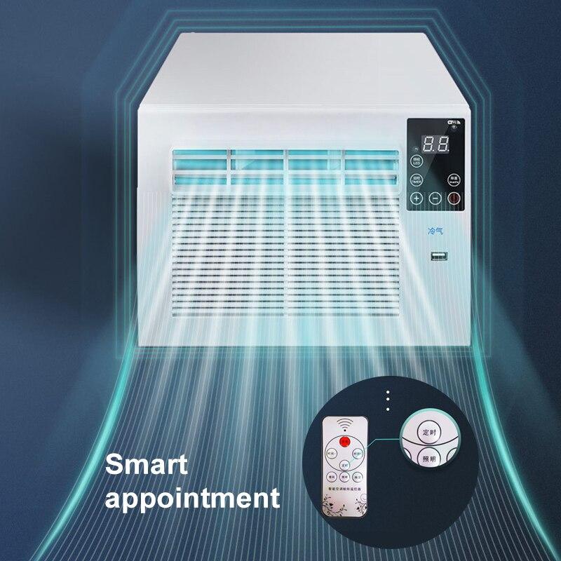 900W Draagbare Desktop Koeling Airco Ventilator Led Bedieningspaneel Airconditioner Bed Kleine Luchtkoeler Voor Kamer 4
