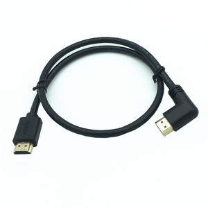 Image 3 - 4K*2K 60HZ HDMI 2.0 cable 90 degree Down & Up & Left & Right angled HDMI cable 2.0 3M 1.5M 1M 3D supported Up to 3840X2160/60HZ