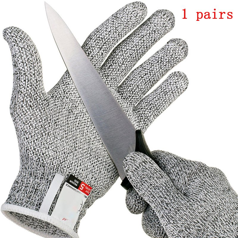 Anti-cut Gloves Safety Cut Proof Protective Stab Resistant Stainless Steel Wire Metal Mesh Butcher Cut-Resistant Gloves