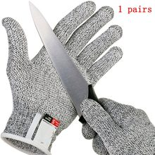 Anti-cut Gloves Safety Cut Proof Protective Stab Resistant Stainless Steel Wire