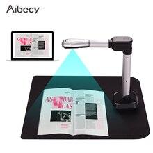 Aibecy, USB сканер для документов, камера, размер захвата A3 HD, 16 мегапикселей, высокоскоростной сканер, светодиодный светильник для книг, набор водяных знаков