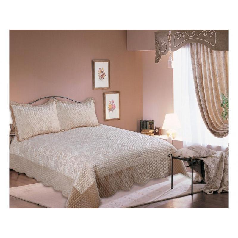 Bedspread euro Amore Mio, Valensia, 220*240 cm, with наволочками bedspread ethel silk freshness size 220 240 cm faux silk 100% n e