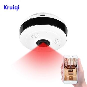 цена на Kruiqi IP Camera Wifi 1080P Wireless Home Security Camera Surveillance Camera Wifi Night Vision CCTV Camera 2mp Baby Monitor
