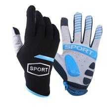 Весна полный палец Сенсорный экран велосипедные перчатки MTB спортивные противоударные велосипедные перчатки Гель жидкий шок велосипедные перчатки