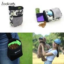Портативный дрессировки закуски сумка принадлежности для домашних животных сильное сопротивление износу большой Ёмкость щенок закуски на...