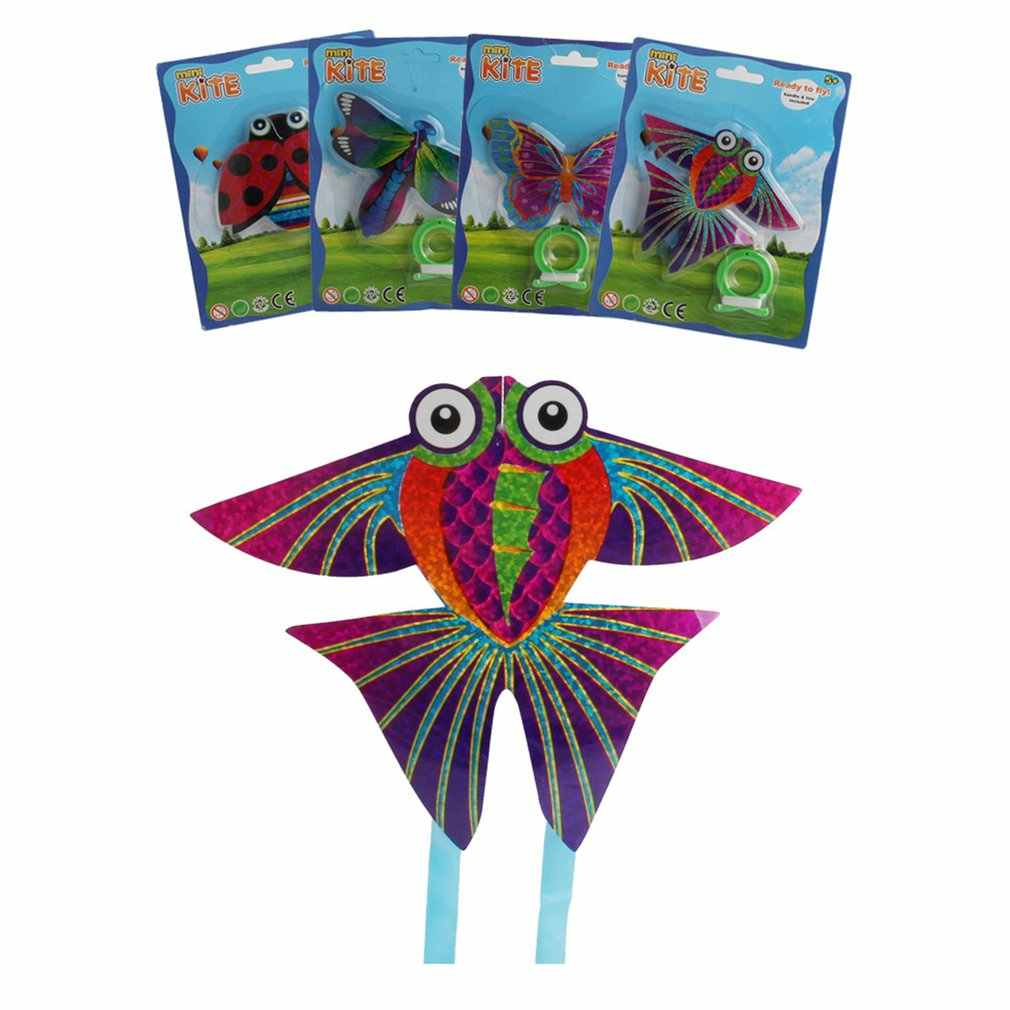 Mini Size Early Educational Butterfly Insect Pegasus airplanes Mini Kite Toys Kids Outdoor Parent-child Interactive Toy HOT