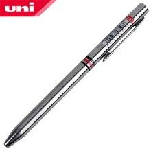 Металлическая шариковая ручка Mitsubishi Uni SE 800 Fancy, два цвета, 0,7 мм, включает в себя черный и красный цвет