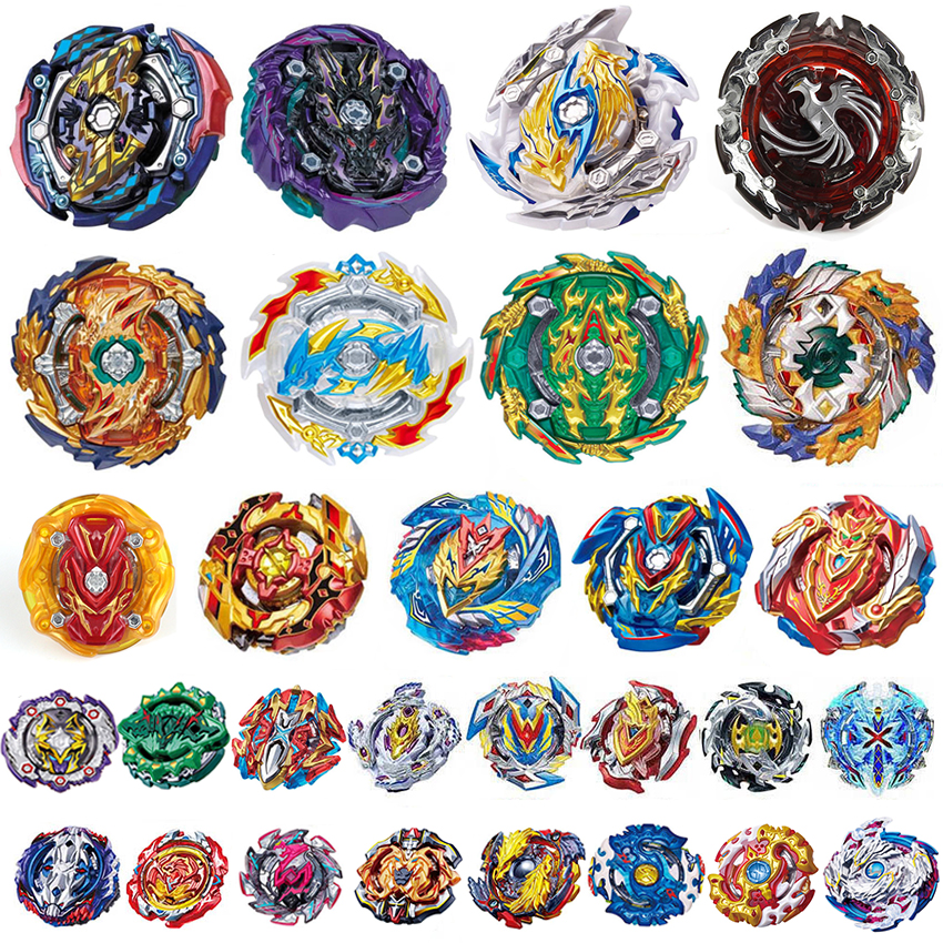 Top Launchers <font><b>Beyblades</b></font> Burst Toys <font><b>B</b></font>-<font><b>133</b></font> <font><b>B</b></font>-134 <font><b>B</b></font>-135 bables Toupie Bay blades burst Metal God Spinning Tops Bey Blade Blades Toy image
