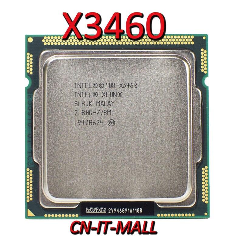 Pulled Xeon X3460 CPU 2.8GHz 8M 4 Core 8 Threads LGA1156 Processor