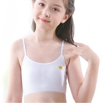 Mädchen Training Bhs 5 Stück Tops für Mädchen Baumwolle Unterwäsche 1