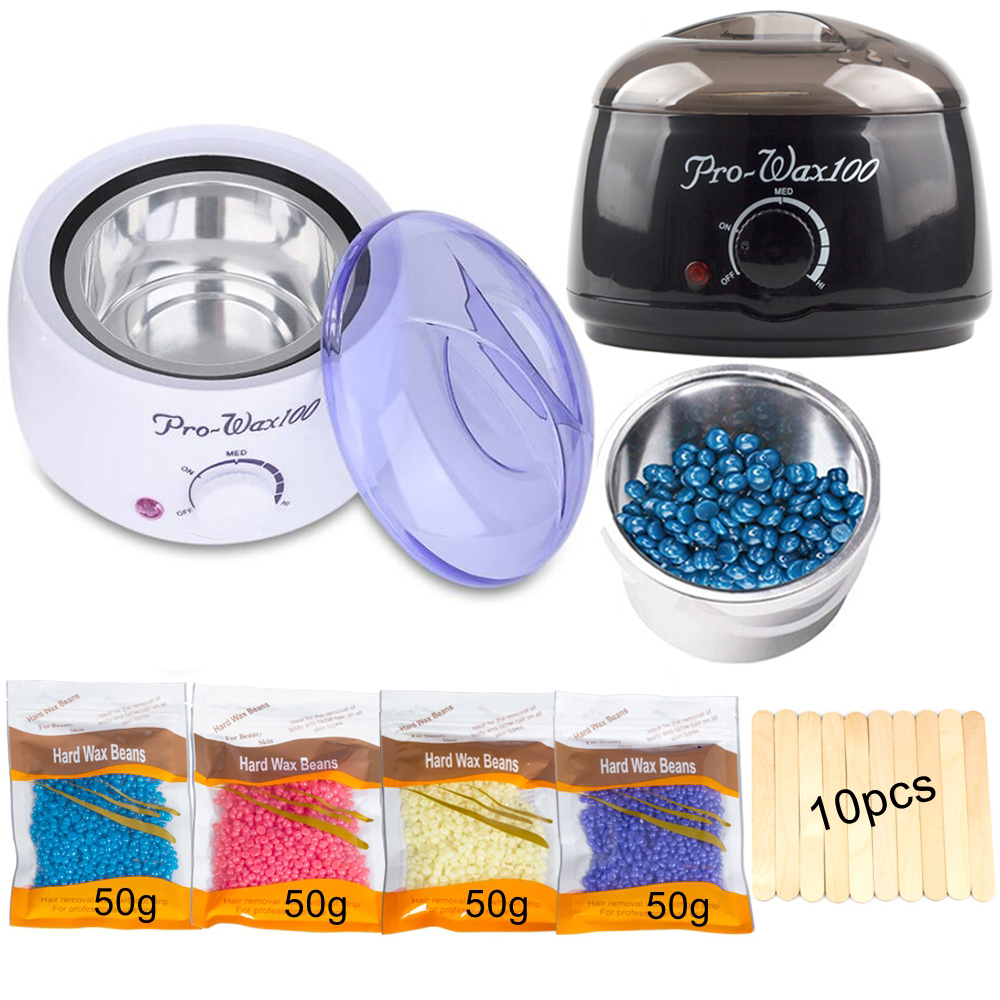 Wax Warmer Wax Heater Mini SPA Hand Epilator Feet Paraffin Wax Rechargeable Machine Body Depilatory Hair Removal Tool
