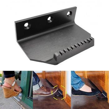 Bezstopniowy uchwyt drzwiowy do otwierania drzwi bez użycia rąk unikaj kontaktu łatwo otwieraj drzwi tylko stopą tanie i dobre opinie Drop shipping wholesale