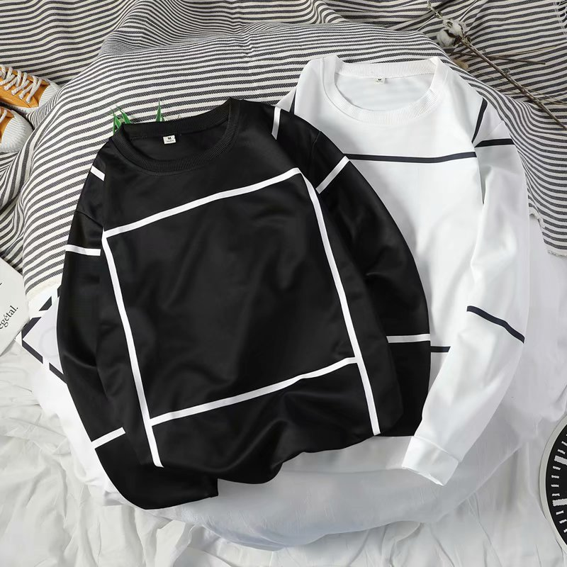 2019 Autumn New  T-Shirt Men Long Sleeve Cotton Fashion Tops