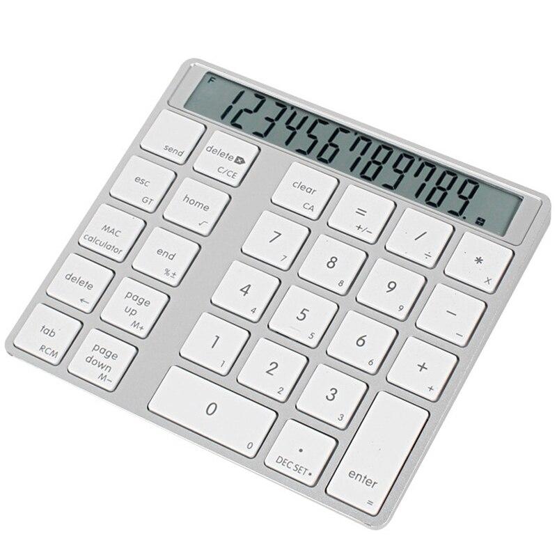 de carga calculadora portátil mini computador