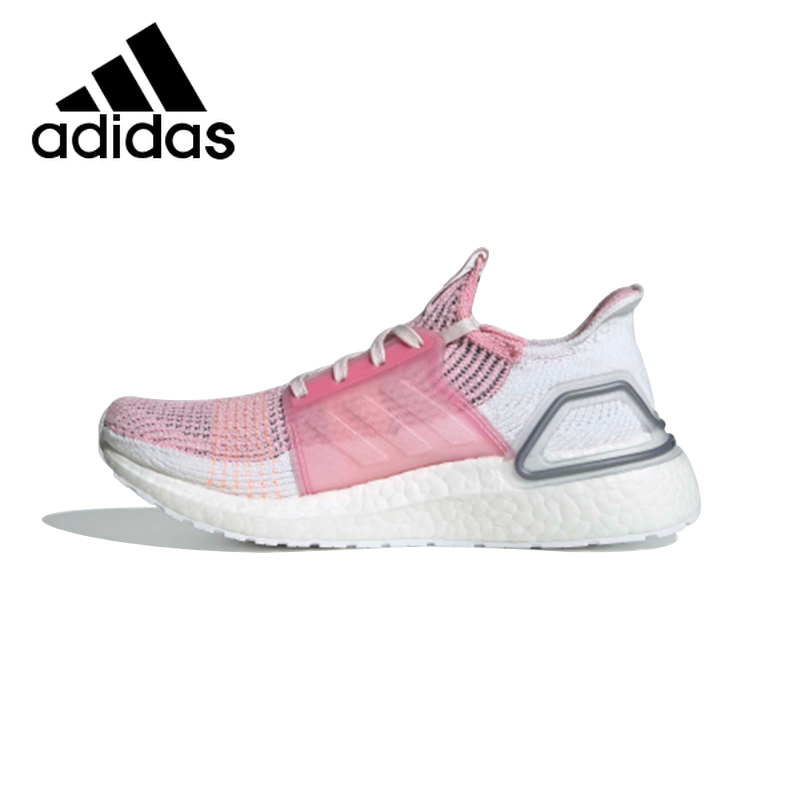 Original <font><b>Adidas</b></font> ULTRABOOST 19 <font><b>Women's</b></font> <font><b>Running</b></font> <font><b>Shoes</b></font> Training Lightweight Comfortable Mesh Breathable Sports Sneakers F35283 image