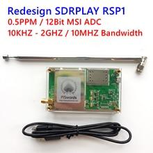 Redesign hardware Wideband 12bit msi SDR FE PLAY Receiver SDRPLAY RSP1 SDR-PLAY Radio HF SSB CW receiver Full band HAM Radio