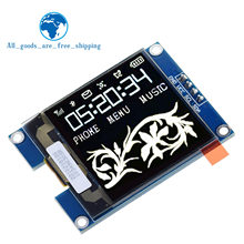 Módulo de pantalla de protección OLED de 1,5 pulgadas, 128x128, producto de alta calidad para Raspberry Pi para STM32 para Arduino