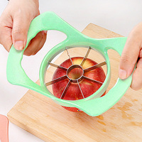 Multifunktions Weizen Stroh Edelstahl Obst Schneiden Splitter Apple Slicer Zu Entfernen Obst Corer Tool Cut Obst Artefakt|Schredder und Schneidemaschinen|   -