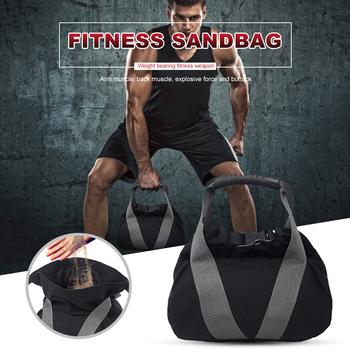 Heavy Duty pusty siłownia waga torba z piaskiem Fitness podnoszenie ciężarów worek z piaskiem trening bokserski kulturystyka ćwiczenia treningowe tanie i dobre opinie CN (pochodzenie) Kategoria z worków z piaskiem 8 lat Sandbag Gym Workout Bag Sports Workout Equipment Canvas 240g 28 * 18 * 4cm 11*7 08*1 57in