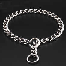 304 Stainless Steel P Chain for Dogs Training Choke Collars for Large Dogs French Bulldog German Shepherd Heavy Duty Pet Collar