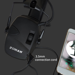 Image 3 - ZOHAN Electronic Earmuff NRR22DB Ear Cup for Single Microphone Hunting Earmuffs Tactical Shooting Hearing Protection Replacement