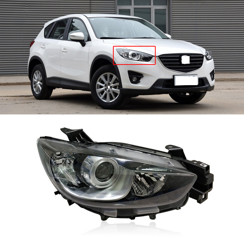 1Pcs Right Side Front Fog Light Lamp Grille Cover Trim For Mazda CX-5 2013-2015