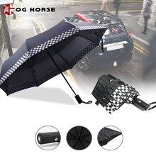 1 шт мужские водонепроницаемые полностью автоматические брелка для складного автомобильного мини логотип дождь зонтик для MINI Cooper R50 R53 R55 R56 R57 R58 R59 R60 R61F54 F55 F56 F57 F60