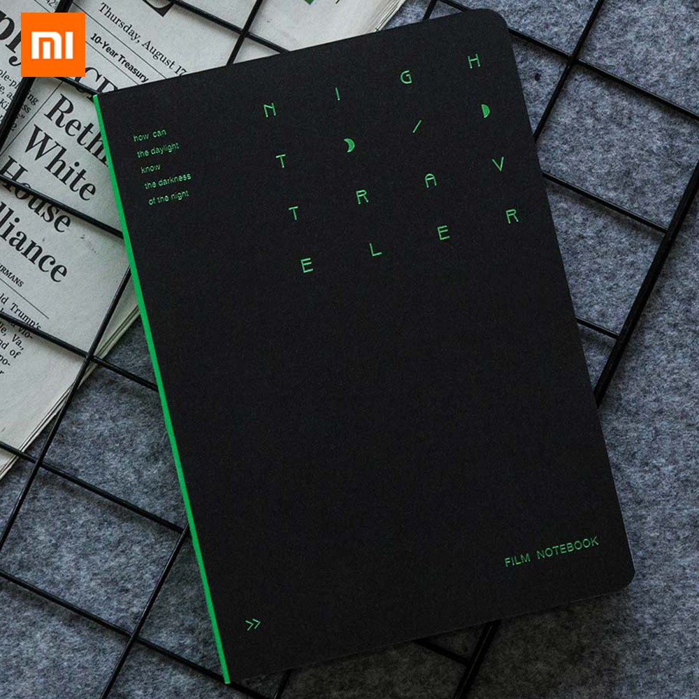 Xiaomi Mijia Kinbor Night Stalker B6 Series Notebook Four Inner Pages Bronze Night Office Writing Notebook Record Life Journal