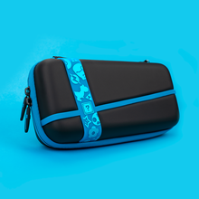 Portable Velvet Lining Protective Bag For NINTENDO SWITCH Luminous Stripes PU Leather Handbag For NS Switch Case For Switch Host