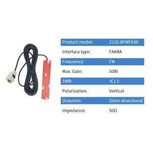 Image 2 - Auto Voertuig Auto FM Radio Patch Antenne FAKRA 5dBi High Gain Omnidirectionele Antena voor Omroep Feeder 3m Z132 BFMFA30