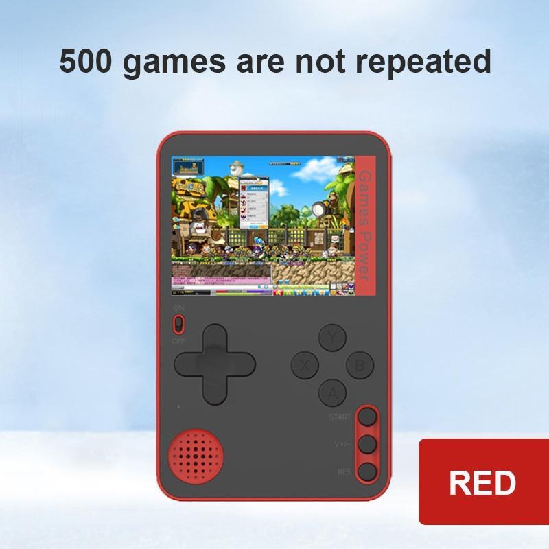 Портативный портативная игровая консоль Встроенный 500 классические чайные кружки из 8 бит игры ретро видео игровая консоль 2,4 дюймов Экран ф...