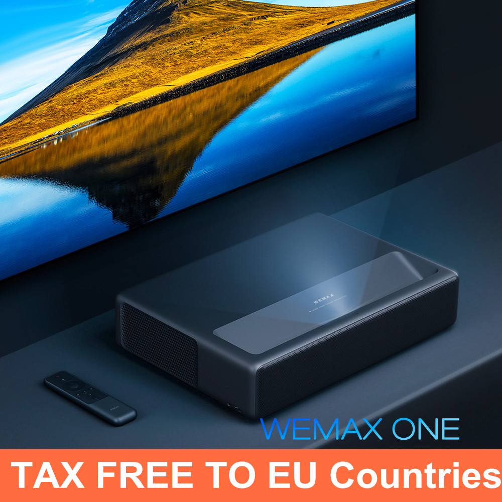 Wemax One Pro Laser Projector Full HD 2300ANSI Voice Control 4K Android6.0 ALPD3.0 Smart Home Projector 1920*1080 FMWS02C