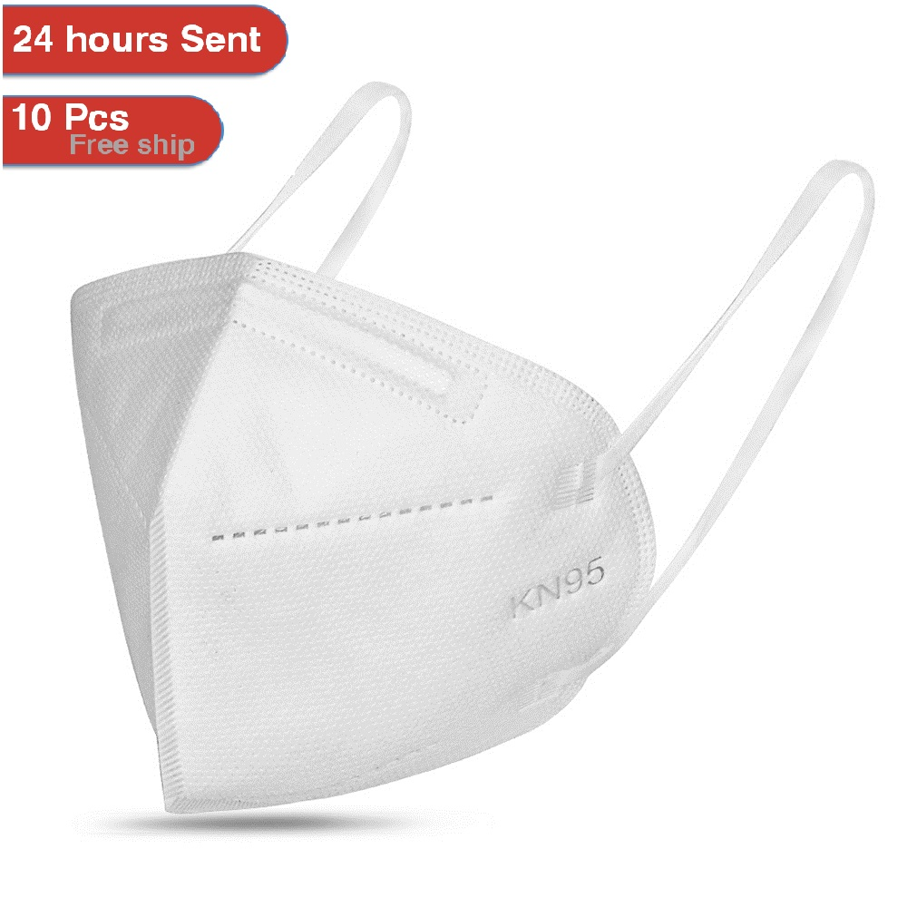 KN95 Mask 95% Filtration Cotton Mouth Mask Anti Bacterial Dustproof Protection 3 Filters PM2.5 Face Mask