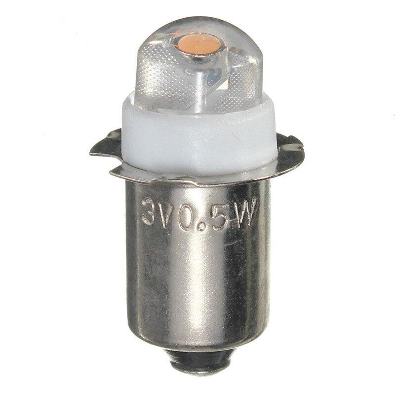 DC 3V 4.5V 6V  LED For Focus Flashlight Replacement Bulb P13.5S PR2 0.5W Torches Work Light Lamp 60-100Lumen Dropshipping