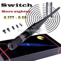 Red Dot Laser BORE Sighter BoreSighter Sight Kit ชุดสำหรับ.22 ถึง.50 Calibre RIFLE ขอบเขต