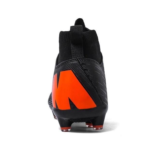 Outdoor Football Boots Men Sneakers Soccer Boots Turf Football Boots Kids Soccer Cleats AG/FG Spikes Training Sport Futsal Shoes 2