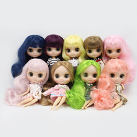 Middle Blyth 1/8 Doll, Matte / Smooth Face, 20 Joints Body, Short / Long Hair, Curly / Straight Hair, 20cm Nude Middie Doll
