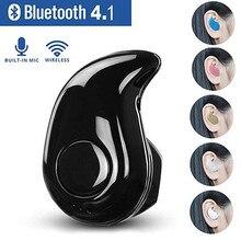 лучшая цена Mini Wireless Bluetooth Earphone in Ear Sports Headset Earphones Earpiece with Mic for iPhone Xiaomi Samsung HTC All smar