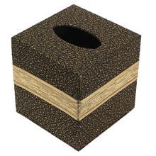 Квадратный автомобильный бумажный держатель из искусственной кожи, коробка для салфеток, отдельно стоящая бумажная коробка для хранения полотенец, держатель для салфеток, Настольный Декор для дома