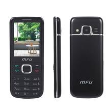 "Mfu M670 bluetooth携帯電話2.4 ""ミニsimカードワイヤレスfm 1000 2600mahビッグフォントビッグボタン懐中電灯電源銀行携帯電話"