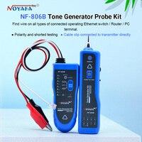 NF-806 cor azul mutifuncation cabo detectores suporte rastreamento fio de telefone lan cable finder nf_806