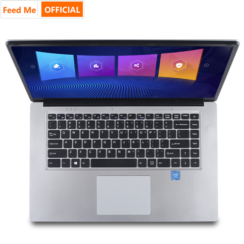 15.6 inch Laptop With 8G RAM 512G 256G 128G SSD Gaming Laptops Ultrabook intel j3455 Quad Core Win10 Notebook Computer image