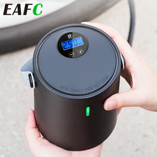 Rechargeable Car Inflator Pump 12V 150PSI Portable Digital Air Compressor Auto Tyre Inflator for Auto Motorycycle Bike Ball