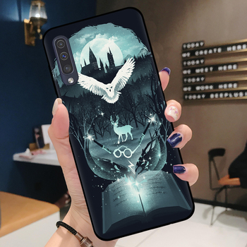 Harry Potter Phone Case for Samsung A Series owl and stag 7