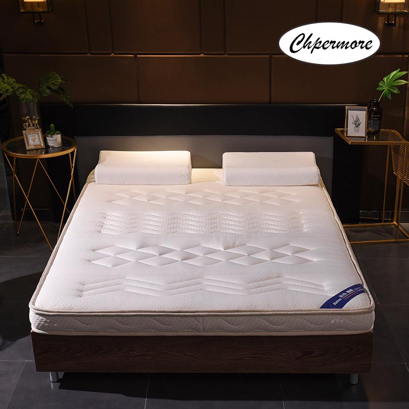 Chpermore Thickening 10cm Memory Foam Mattress Foldable Washable Four Seasons Tatami Double Mattresses King Queen Size