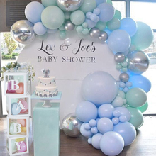 4pcs Baby shower box decoration Transparent Storage filled balloons Boy Girl 1st birthday party decor Wedding love
